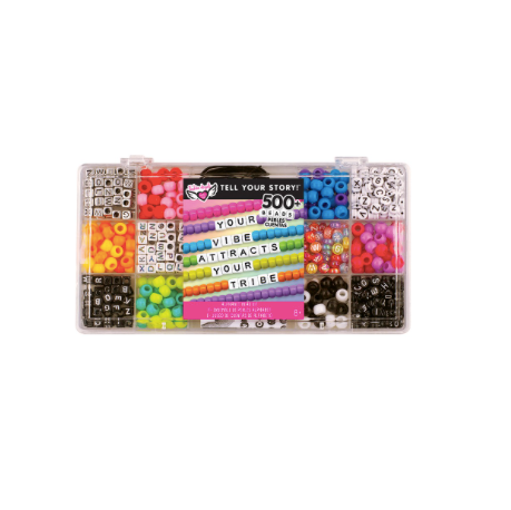 Tell Your Story Alphabet Bead Case - SM