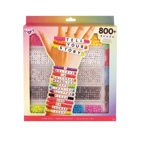 Tell Your Story Alphabet Bead Case- Large