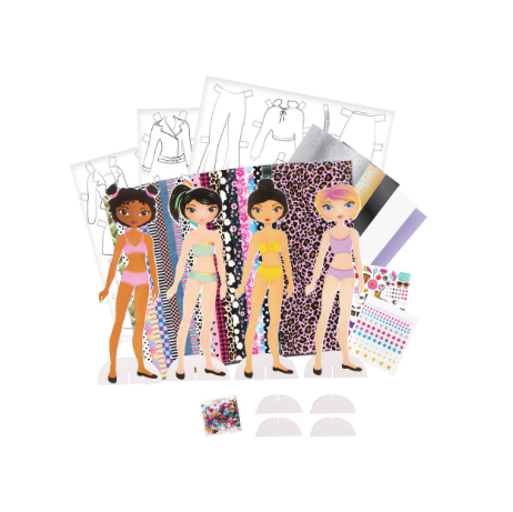 Fashion Icon Paper Doll Fashion Design Kit