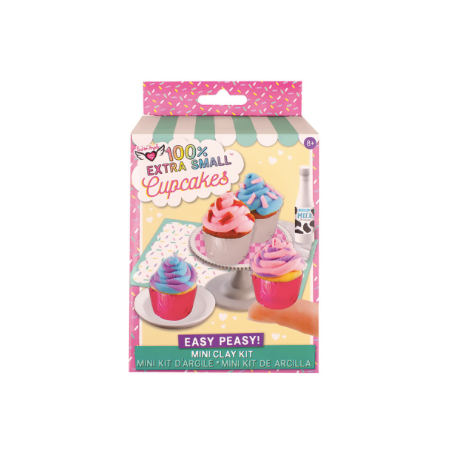 100% Extra SM. Cupcakes Mini Clay
