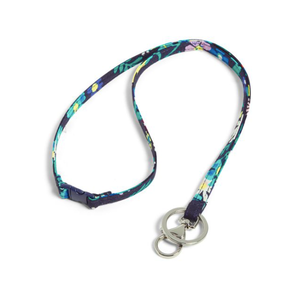 Iconic Breakaway Lanyard Moonlight Garden