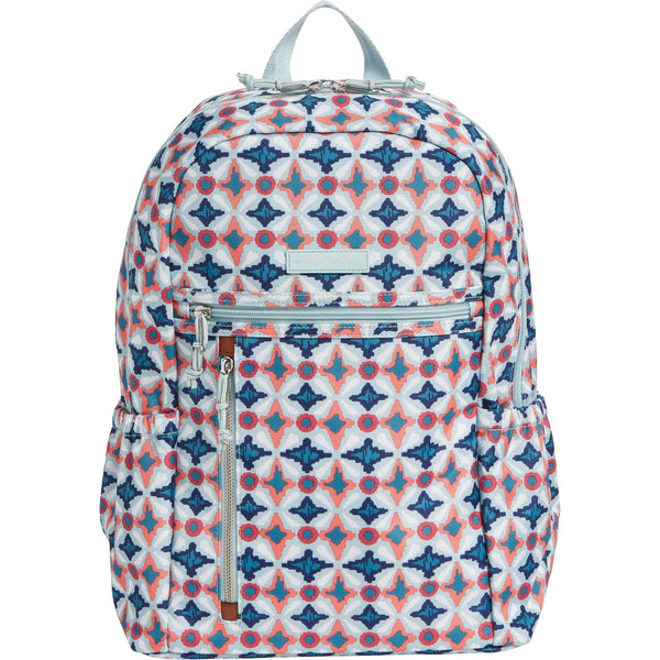 Lighten Up Study Hall Backpack Water Geo