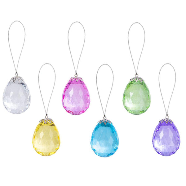 Hanging Acrylic Easter Egg ornaments