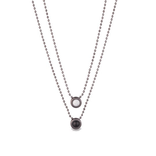 Double Ball Chain - Gunmetal