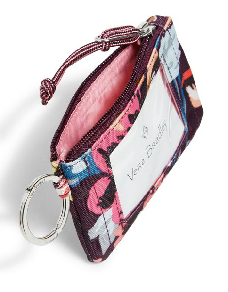 Lighten Up Zip ID Case Indiana Blossoms