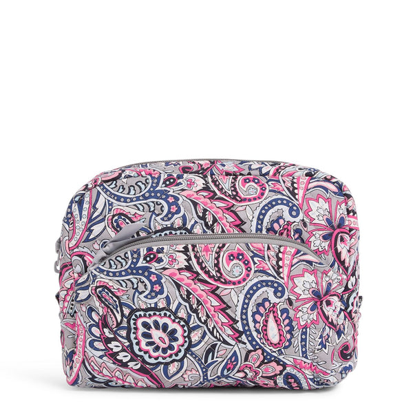 Large Cosmetic Bag in Gramercy Paisley
