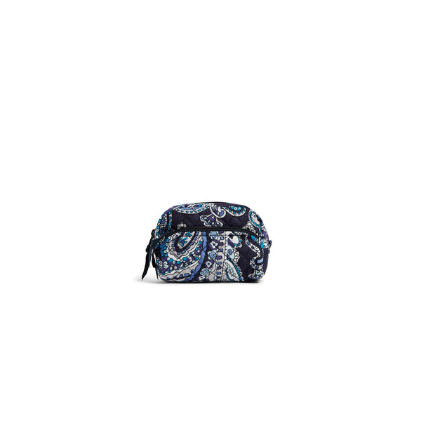 Mini Cosmetic Bag in Deep Night Paisley