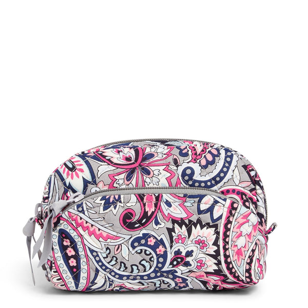 Mini Cosmetic Bag in Gramercy Paisley