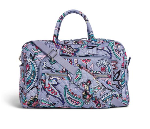 Iconic Compact Weekender Travel Bag Makani Paisley