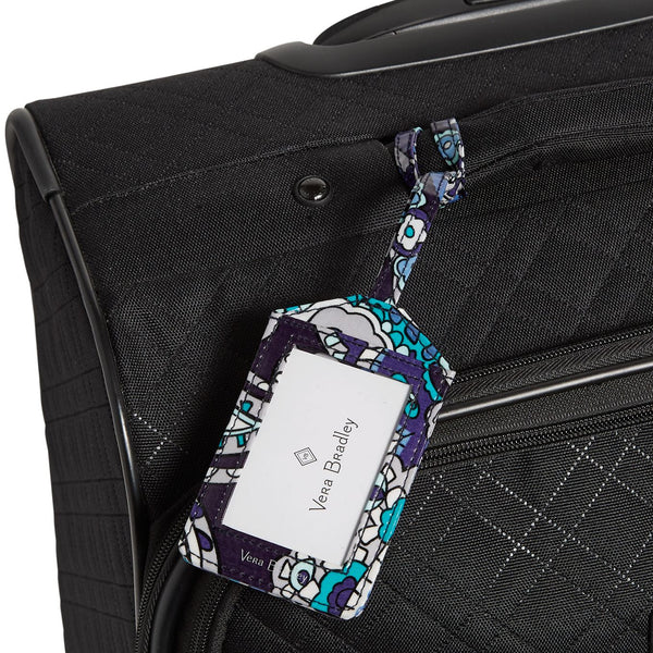 Deep Night Paisley Luggage Tag