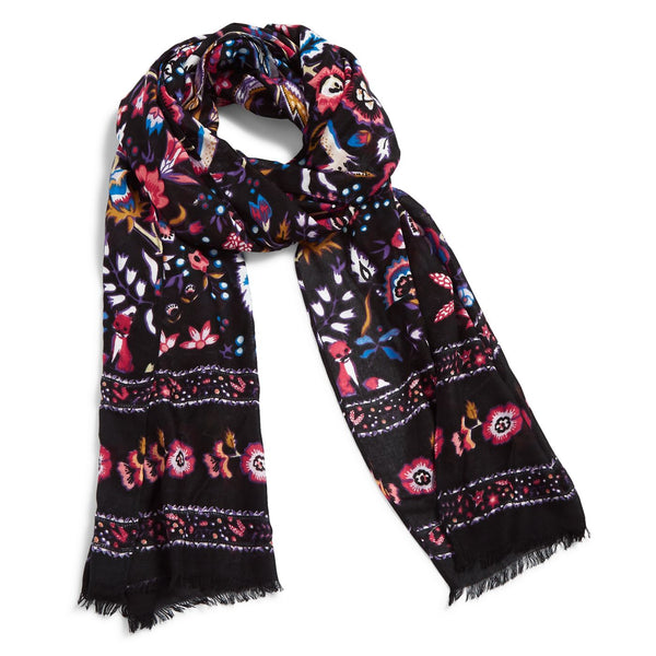 Soft Fringe Scarf in Foxwood