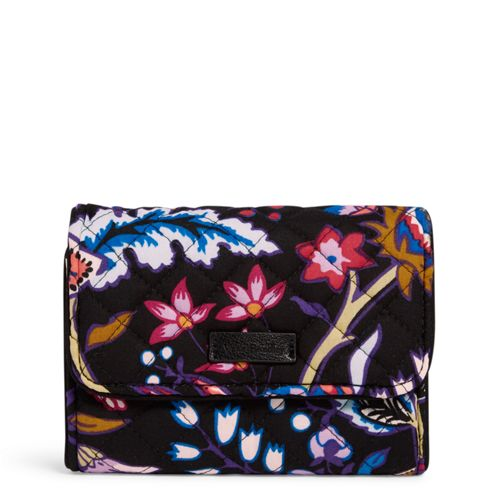 Iconic RFID Riley Compact Wallet Foxwood