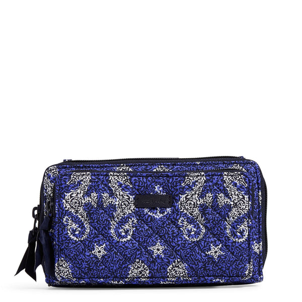 Iconic Deluxe All Together Crossbody in Seahorse of Course