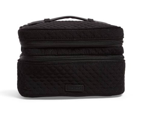 Iconic Jewelry Train Case Classic Black