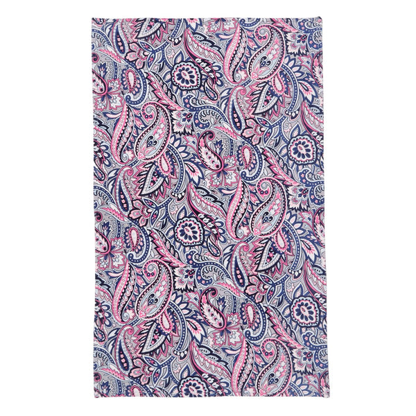 Gramercy Paisley Plush Throw Blanket