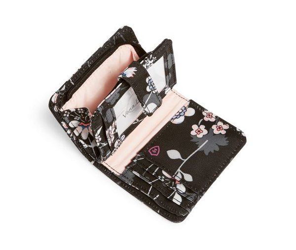 Lighten Up RFID Small Wallet Holland Bouquet