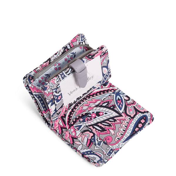 RFID Small Wallet in Gramercy Paisley