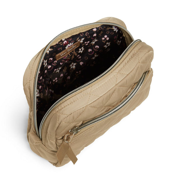 Medium Cosmetic Bag in Khaki