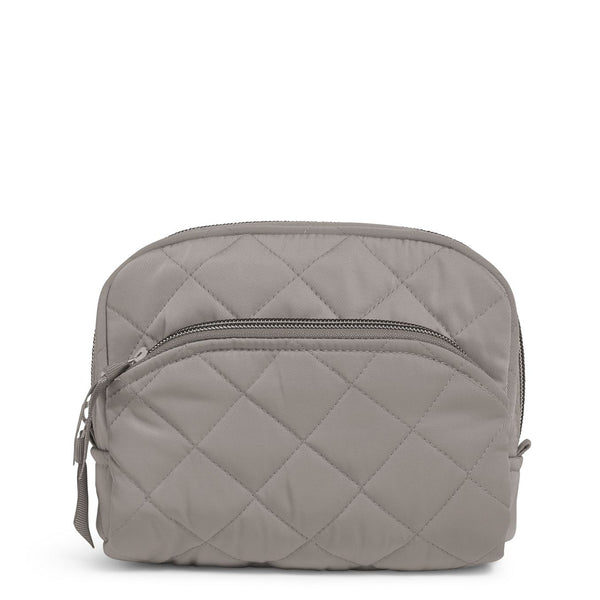 Medium Cosmetic Bag in Tranquil Gray