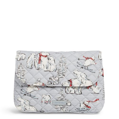 Iconic Brush & Cosmetic Case Beary Merry