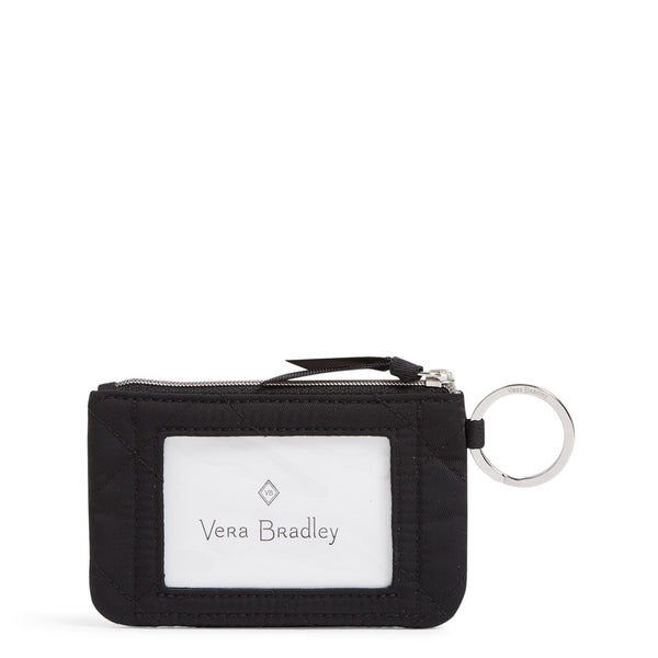 Iconic Zip ID Case in Black