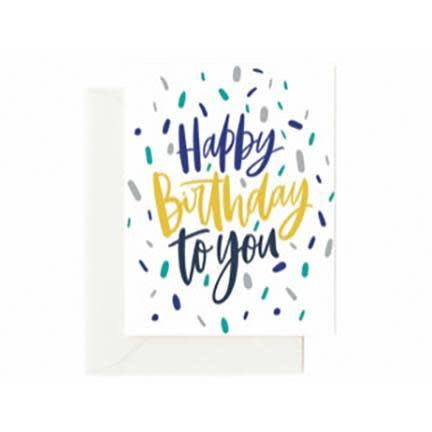 Mary Square Greeting Cards- Happy Birthday
