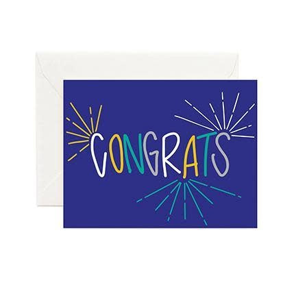 Mary Square Greeting Cards - Congrats