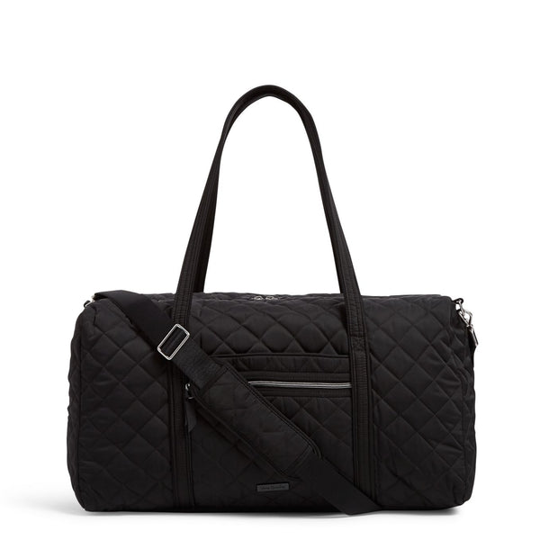 Lay Flat Travel Duffel Bag in Black