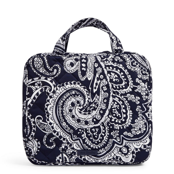 Zip Hanging Organizer in Deep Night Paisley Neutral