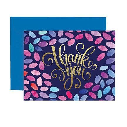 Mary Square Greeting Cards - Thank You