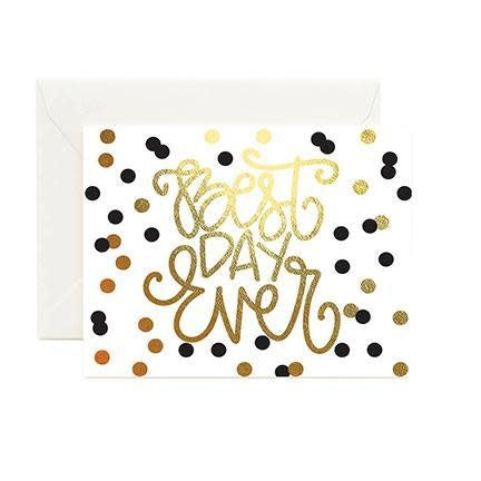 Mary Square Greeting Cards - Best Day Ever