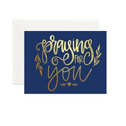 Mary Square Greeting Cards- Praying For You