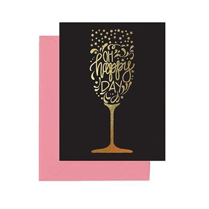 Mary Square Greeting Cards - Oh Happy Day