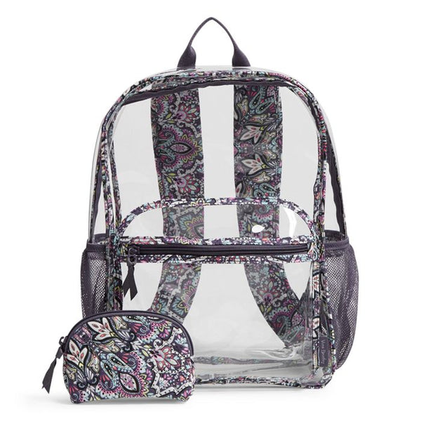 Clearly Colorful Large Backpack Set - Select Pattern