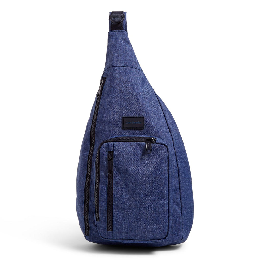 Reactive Sling Backpack in Dark Blue Heather