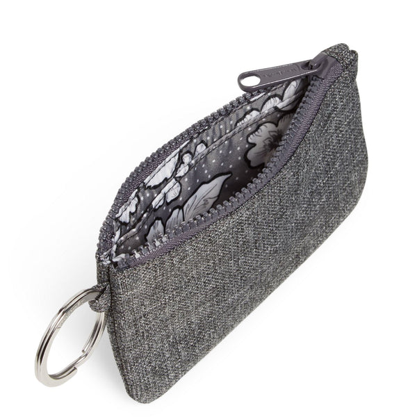 Gray Heather ReActive Zip ID Case