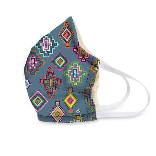Vera Bradley - Adult Cotton Face Mask in Painted Medallions