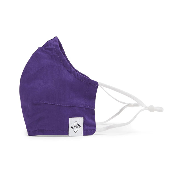 Vera Bradley - Adult Cotton Face Mask in Iona Purple