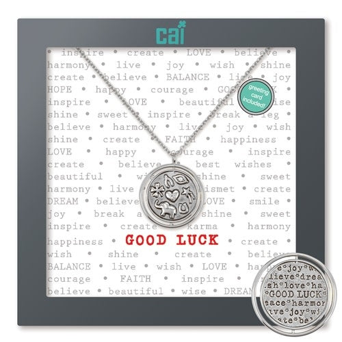Good Luck Necklace- Silver