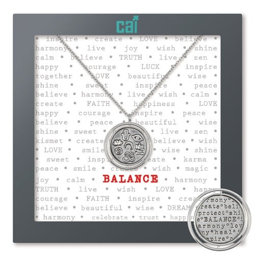 Balance Necklace-Silver