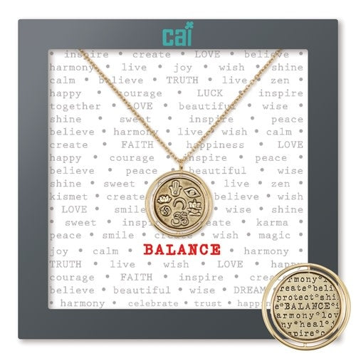 Balance Necklace-Gold