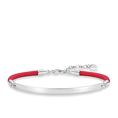 Red Mokuba Love Bridge Bracelet - 19.5cm