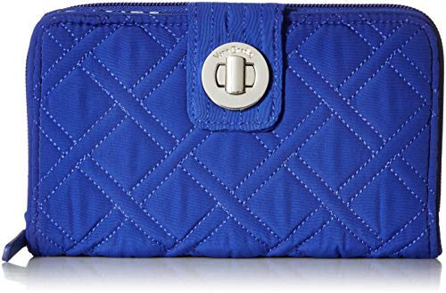 RFID Turnlock Wallet Gage Blue