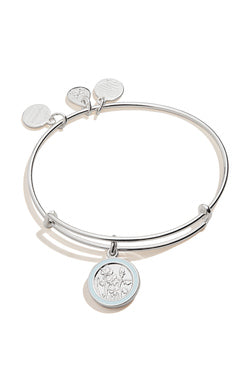 April Bangle of the Month, Sweet Pea Flower, EWB, SS