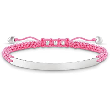 Light Pink Heart Love Bridge Bracelet