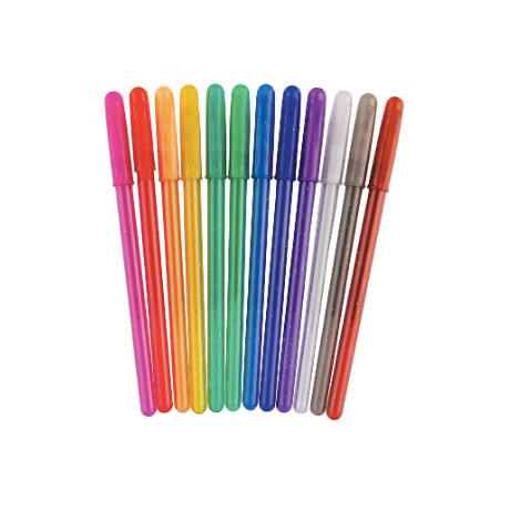 S. Lab 12 Scented Glitter Gel Pens