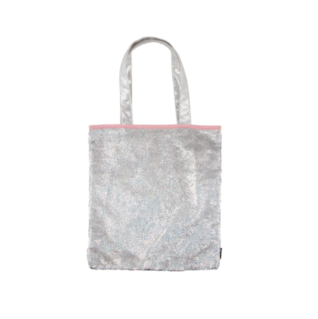 Magic Sequin Silver Holo/Irridescent-Tote Bag