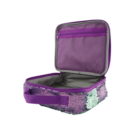 S. Lab Magic Sequim Lunch Tote-Purple/Holo Seafoam