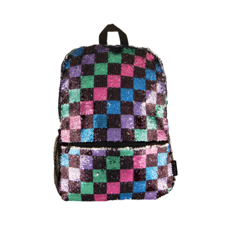 Checkerboard Magic Sequen Backpack