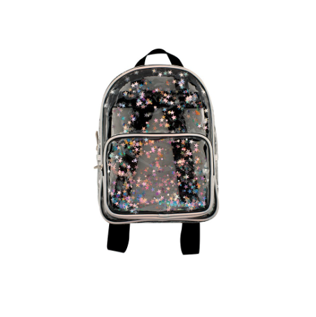 Transparent Star Shaker Mini Backpack